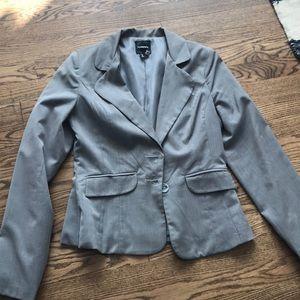Grey blazer size medium